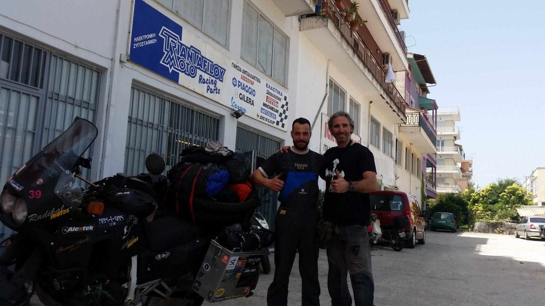 17 De Junio. Taller En Grecia Y Entrada En Turquía