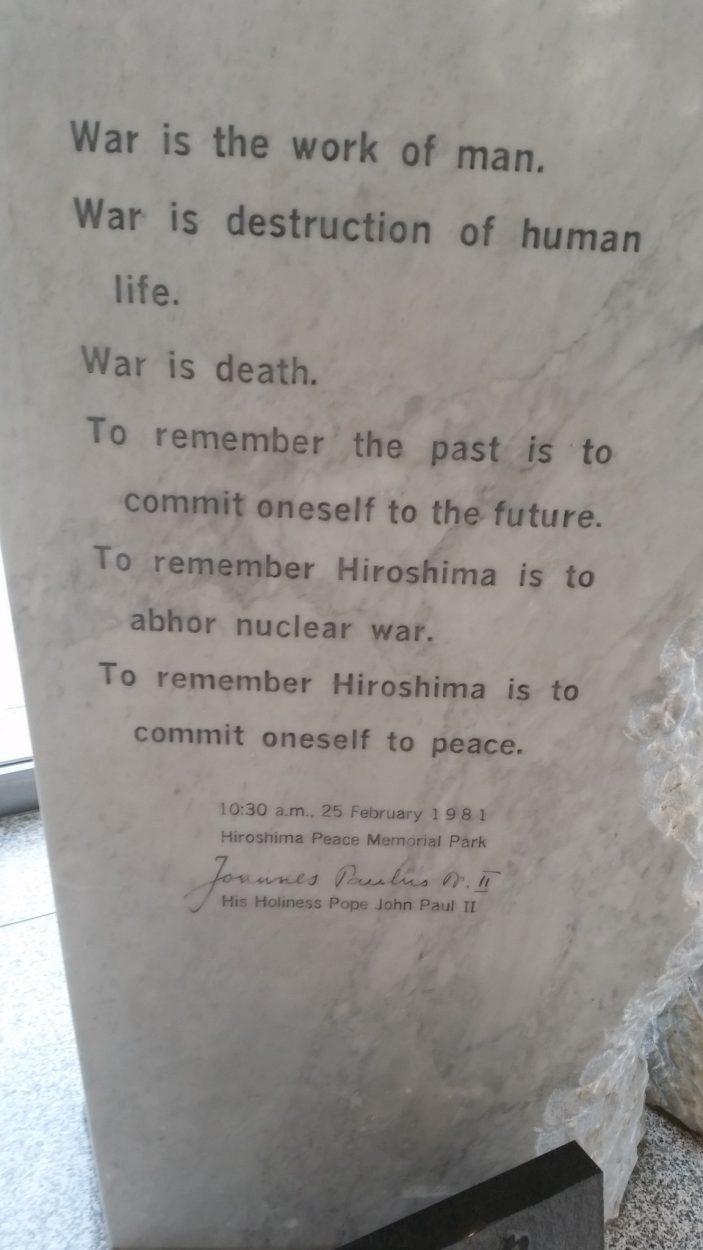 26 A 29 De Agosto – Hirosima Y Kyoto