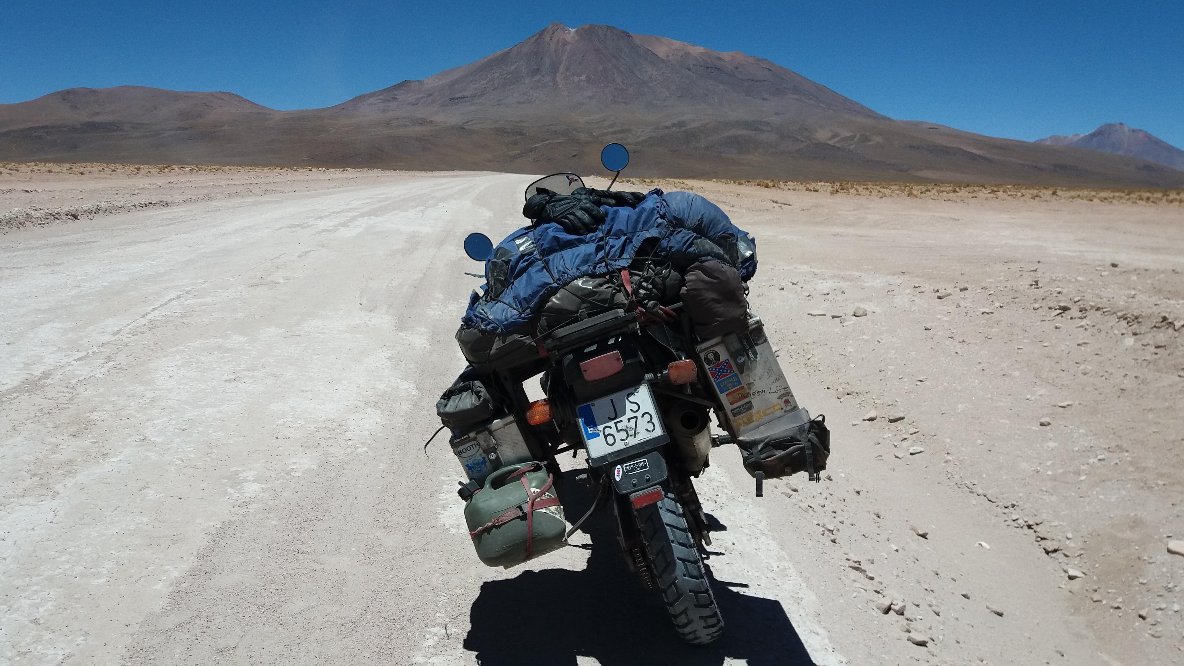 Uyuni (Bolivia) – Calama (Chile) Por El Paso De Ollagüe (26 Nov 2017)
